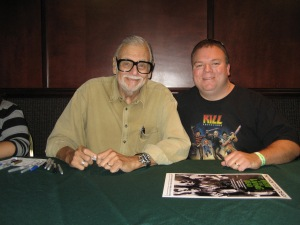 My Hubby with George Romero