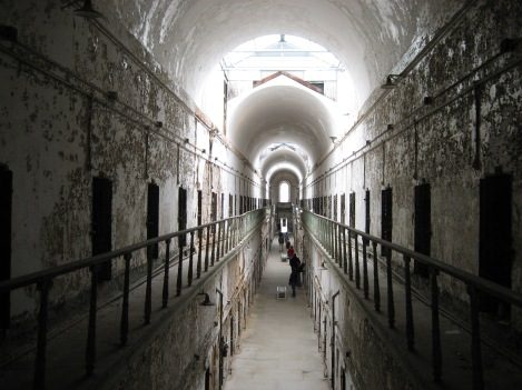 View Down a Cellblock