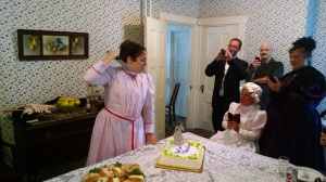 Lizzie Cuts the Cake