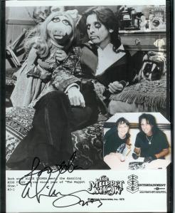 Alice Cooper Autograph