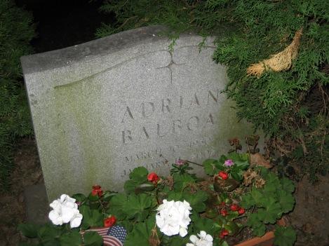 "Adrian Balboa's ""Grave"""